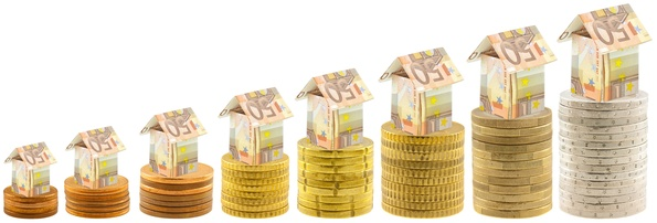 concept croissance coût immobilier